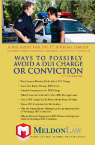 Ways to possibly avoid a DUI charge